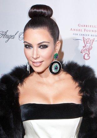 Kim Kardashian w YSL (FOTO)