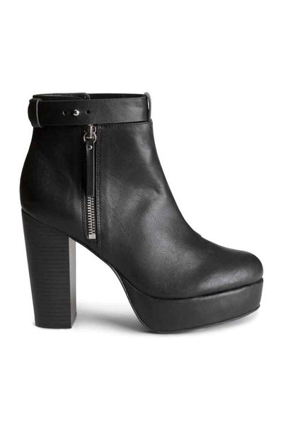 H&M Divided Rockowy Styl -