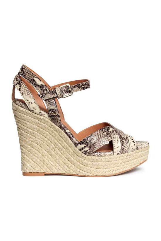 H&M Sandały na lato - Przeglad modnych sandałów na lato 2016