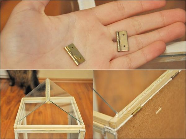 Zrób to sama: ozdobna mini szklarnia