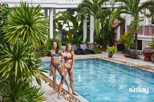 Swim, tan, dance, repeat, czyli kolekcja strojów kąpielowych od Sinsay