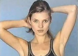 Kate Moss na castingu w 1996 roku! (VIDEO)