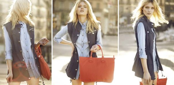 Stradivarius lookbook luty 2013