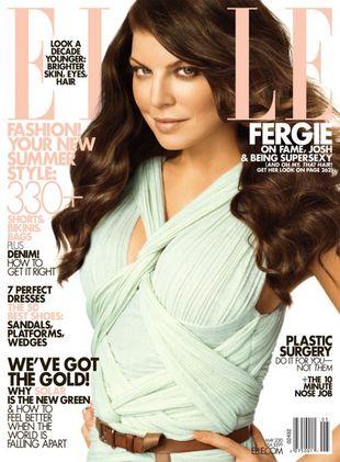 Fergie w Elle: Boli mnie, gdy mówią, że jestem brzydka