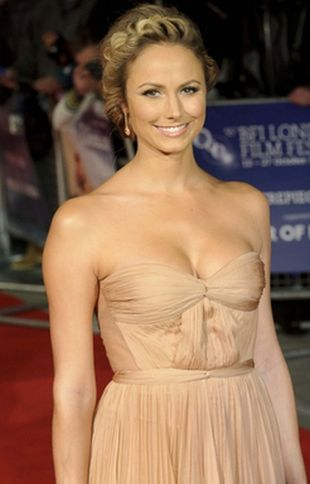 Stacy Keibler błyszczy na London Film Festival (FOTO)