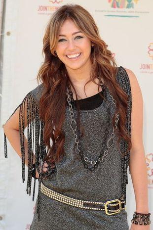Miley Cyrus i jej dodatki z ćwiekami