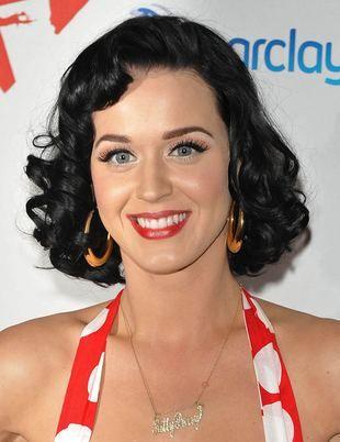Katy Perry w grochy