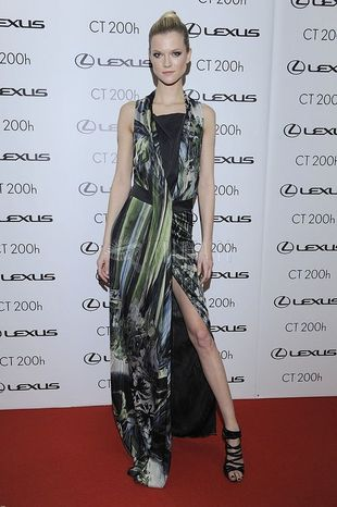 Kasia Struss na Lexus Fashion Awards (FOTO+VIDEO)
