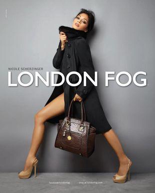Nicole Scherzinger dla London Fog (FOTO)