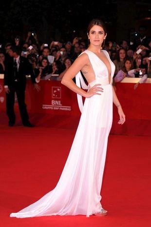 Biała suknia Nikki Reed (FOTO)