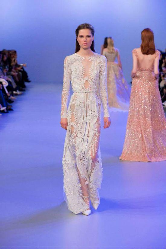 Elie Saab Haute Couture - spring/summer 2014 (FOTO)