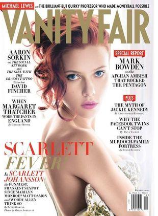 Scarlett Johansson w Vanity Fair
