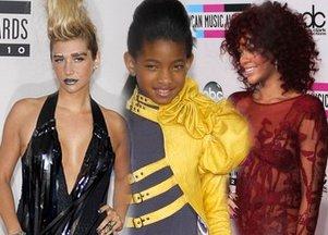 Kreacje gwiazd na American Music Awards (FOTO)