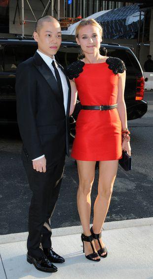 Diane Kruger pod rękę z Jasonem Wu