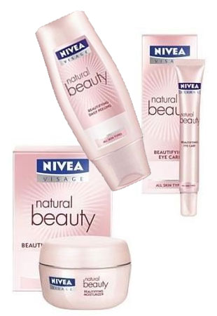 Linia nawilżająca Nivea Natural Beauty