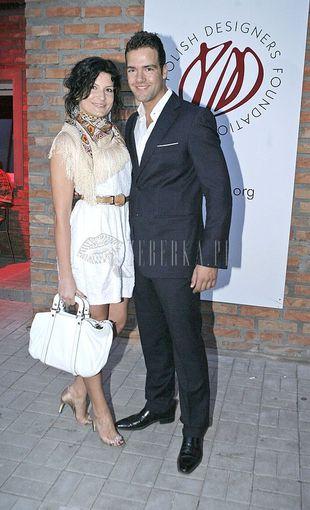 Conrado Moreno i jego stylowa żona