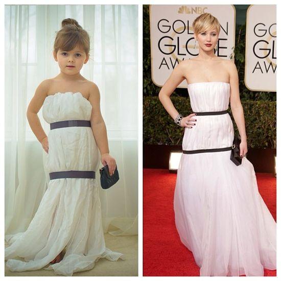 Czterolatka w sukienkach od najlepszych projektantów (FOTO)