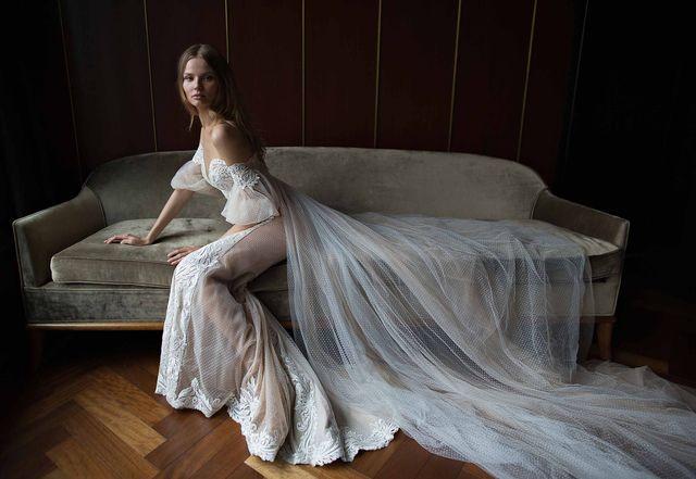 Piękna Magdalena Frąckowiak w kampanii Berta Bridal (FOTO)