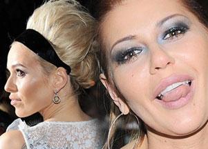 Makijaże i fryzury - urodziny MTV