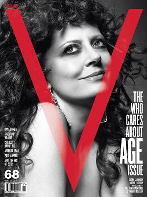 Dojrzałe piękności na trzech okładkach V Magazine