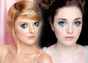 Błękitny makijaż krok po kroku