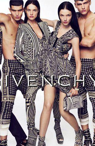 Kampania Givenchy -  wiosna 2010