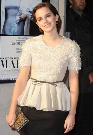 Emma Watson w zestawie od Jasona Wu (FOTO)