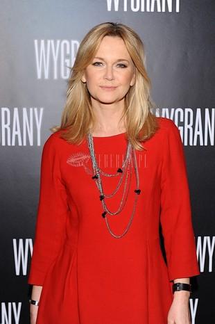 Grażyna Torbicka w czerwonej sukience Zary (FOTO)