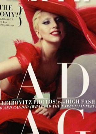 Lady Gaga ponownie dla Vanity Fair (FOTO)