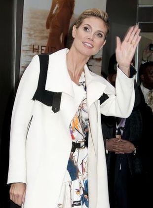 Heidi Klum w sukience Balenciaga (FOTO)