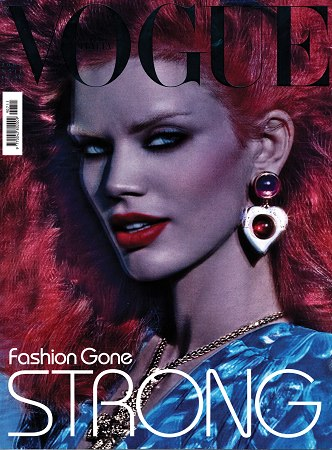 Rianne ten Haken w Vogue Italia