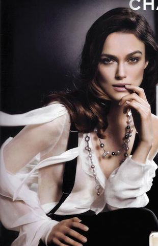Keira Knightley dla Chanel