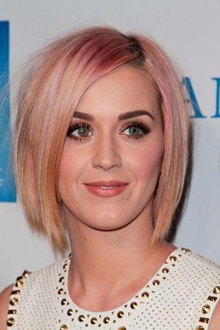 Różowy bob Katy Perry (FOTO)