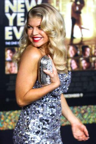 Fergie stawia na cekiny (FOTO)