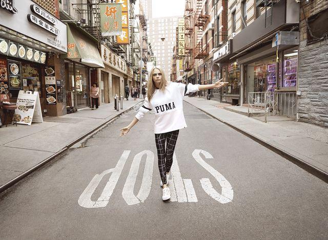 Cara Delevingne gwiazdą najnowszej kampanii marki Puma (FOTO)