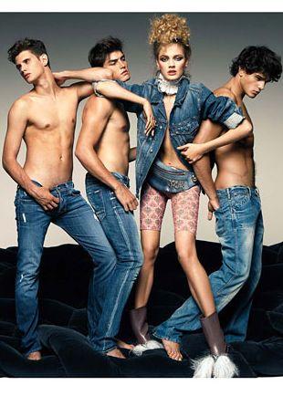 Jeans na wiosnę/lato 2010