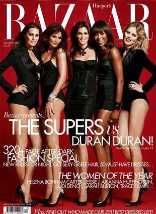 Supermodelki lat 90. w Harper's Bazaar!