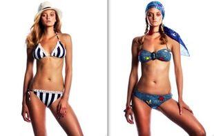 Jessica Simpson i jej kostiumy kąpielowe