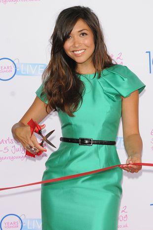 Zielona elegancja Myleene Klass