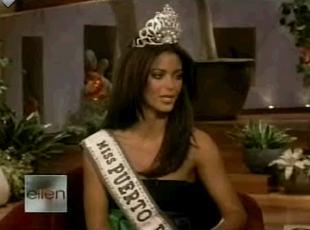Poszkodowana Miss u Ellen Degeneres (VIDEO)