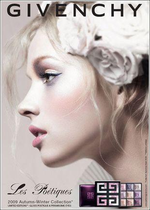 Givenchy - romantyczny makijaż na jesień