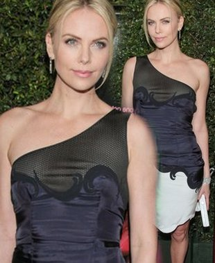 Charlize Theron w Stelli McCartney (FOTO)