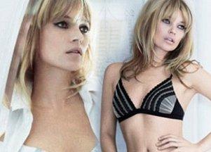 Kate Moss ponownie dla Valisere