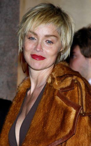 Sharon Stone uwielbia futra (FOTO)