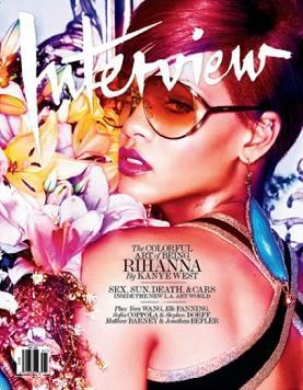 Seksowna Rihanna w magazynie Interview