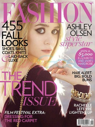 Ashley Olsen we wrześniowym Fashion Magazine