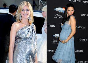Modelki Victoria's Secret w ciąży