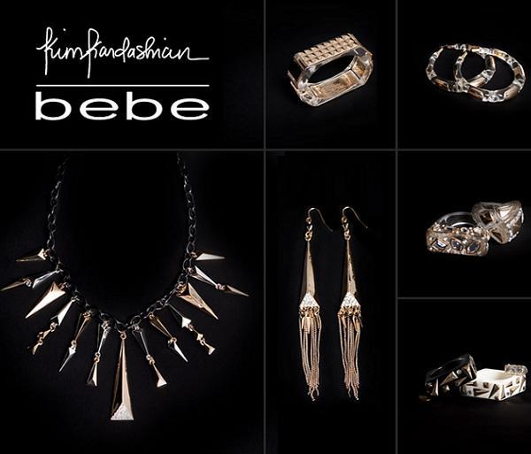 Biżuteria od Kim Kardashian dla Bebe