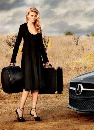 Lara Stone w kampanii Mercedesa (FOTO)