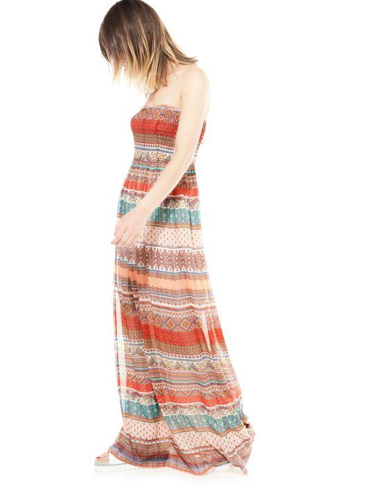 Hit lata - Kolorowe długie sukienki Bershka (FOTO)